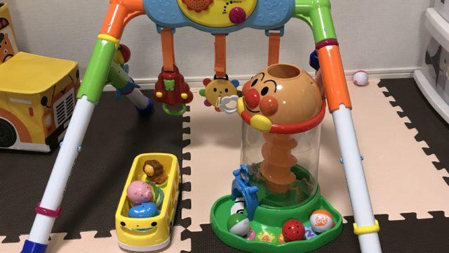 赤ちゃん・子供のおもちゃ、メリーやアンパンのおもちゃの写真