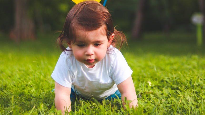 赤ちゃんがハイハイする時期のイメージ画像4