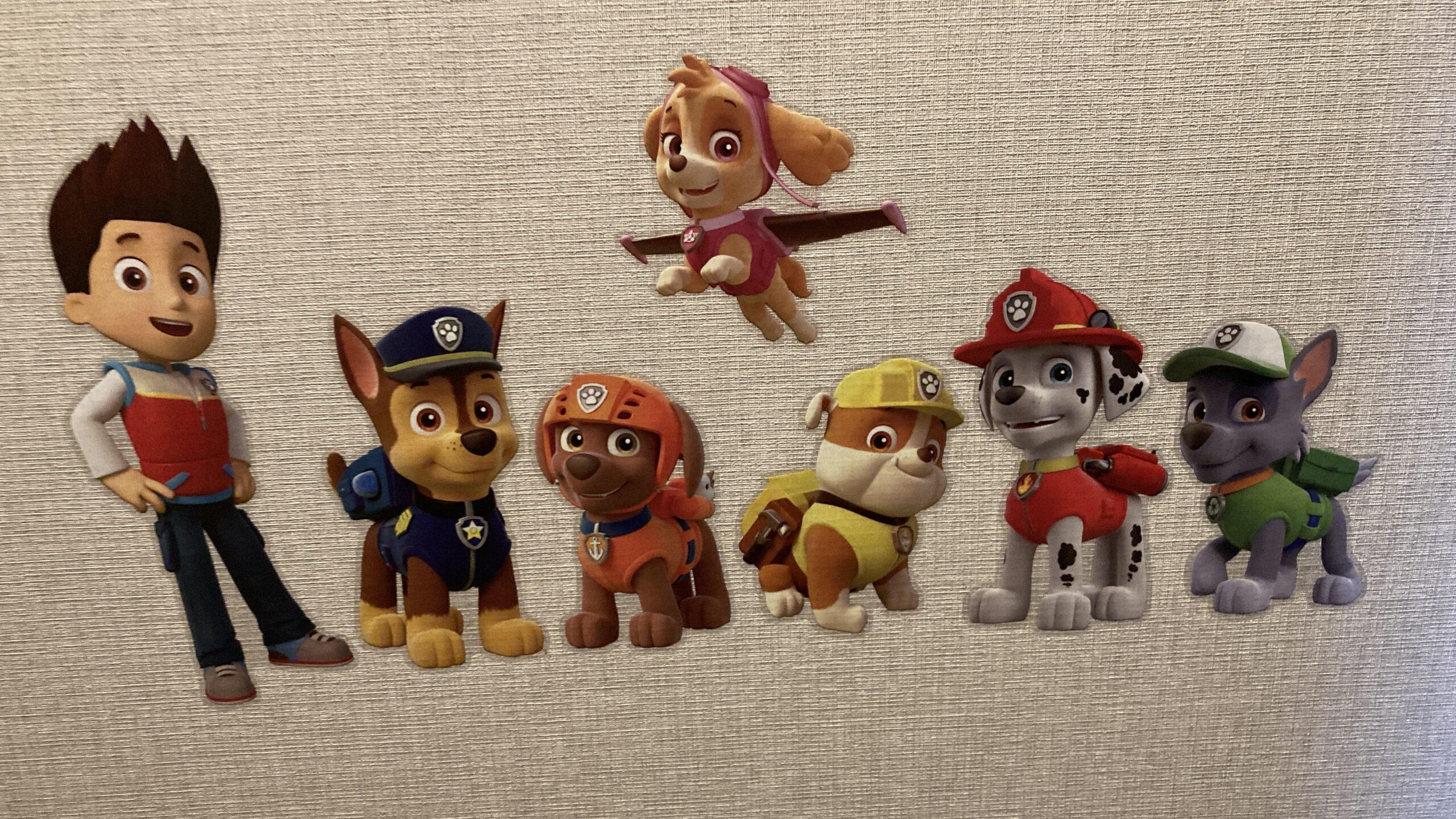 パウパトロールのスカイがかわいい!イラストの塗り絵が無料?おもちゃや服、声優や犬種のイメージ画像10